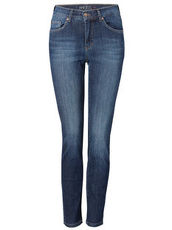 Ankle-Jeans ,Skinny' im Used Look Angels stone used buffi