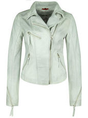 Lederjacke STARLIGHT FREAKY NATION chalk