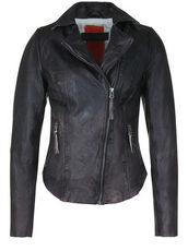 Lederjacke NELLY FREAKY NATION dark anthracite