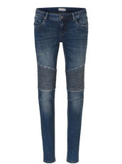 Jeans mit Muster am Knie Betty & Co Blau - Blau