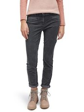 Alexa Slim Hose Tom Tailor Coal Grey