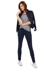 Alexa Slim Hose Tom Tailor real navy blue