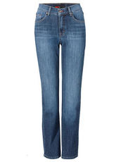 Jeans ,Dolly' mit Herz-Detail Angels dark used buffi
