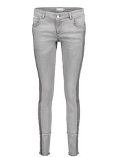 Hose mit Bänder Betty & Co Grey Denim - Grau