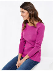 Pullover mit Wellensaum Gerry Weber Dusty Olive