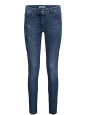Jeans mit Sternen Betty Barclay Grey Denim - Grau
