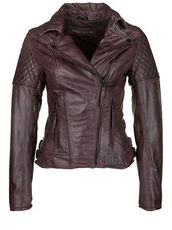 Lederjacke GLORY 1 FREAKY NATION dark rubis