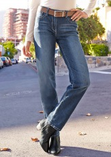 Cheer Straight-Jeans »Lena«
