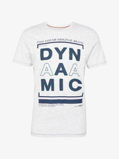 Tom Tailor Casual T-Shirt mit Schrift-Print, Herren, blanc de blanc white,...