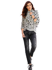 Jeans Alba Moda Green blackdenim