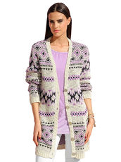 Strickjacke Alba Moda Red multi
