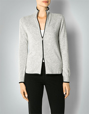 Fire + Ice Damen Cardigan Malia Cardigan mit Mini-Perforationsmuster