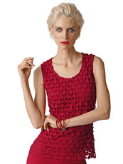 Top Alba Moda Red rot