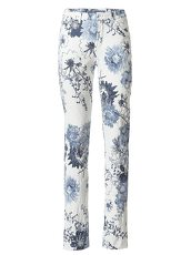 ASHLEY BROOKE by Heine Bodyform-Druckhose Blumen