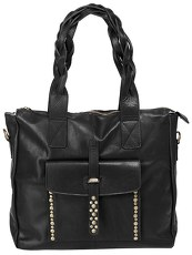 Forty degrees Leder Damen Shopper