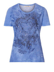 Shirt mit Print Betty Barclay Blau/Blau - Blau