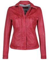 Lederjacke HONEY FREAKY NATION red