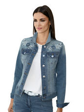 Jeansjacke AMY VERMONT blue bleached