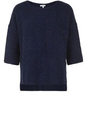 Strickpullover 1/2 SLEEVE BETTER RICH petrol