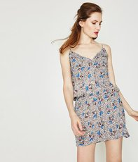 Jumpsuit mit Allover-Print