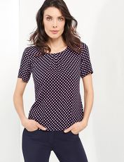 Gerry Weber Bluse 1/2 Arm »1/2 Arm Bluse mit feinem Muster«