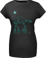 Gozoo T-Shirt »Star Wars - Glowing Imperial Walker«