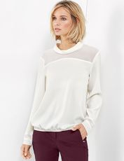 Gerry Weber Bluse 1/1 Arm »Langarmbluse mit Glanzdetails«