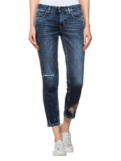 Jeans 'Liu Short' CAMBIO blue denim