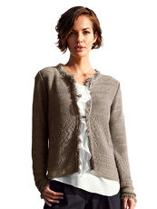 Strickjacke AMY VERMONT taupe