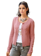 Strickjacke AMY VERMONT orchidee