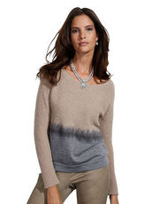 Pullover Cakes and Kisses grau/beige