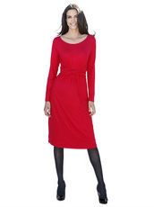 Jerseykleid AMY VERMONT rot