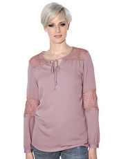 Bluse AMY VERMONT orchidee