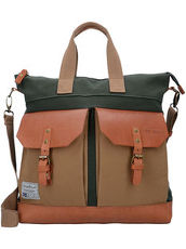 Trapper Creek Shopper Tasche 38 cm Camp David khaki