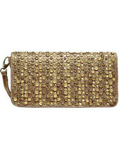 Addison Clutch Tasche Leder 31 cm Billy the kid honey