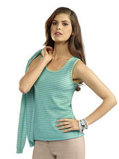 Stricktop Alba Moda Green aqua/mint