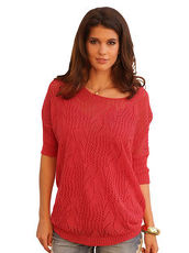 Pullover AMY VERMONT koralle