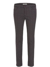 Gemusterte Hose im Casual Stil Betty Barclay Black/Purple - Grau