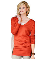 Pullover Alba Moda Green orange