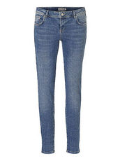 Jeans im Stonewashed- Stil Betty & Co Grey Denim - Grau