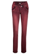 Hose Laura Kent bordeaux