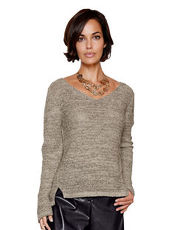 Pullover AMY VERMONT taupe meliert
