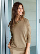 Pullover Laura Kent camel/gold