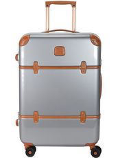 Bellagio 4-Rollen Trolley 70 cm Bric's silberfarben