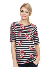 Shirt Betty Barclay marine/natur/pink