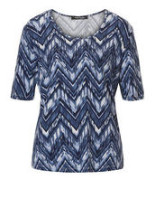 Shirt mit Allover Print Betty Barclay Blau/Blau - Blau