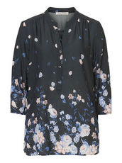 Bluse mit Print Betty Barclay Weiß/Blau - Weiß