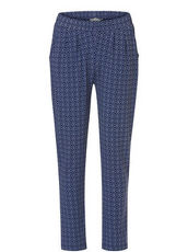 Blaue Hose im lässigen Casual Stil mit allover Print Betty & Co Classic...