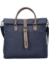 Newark Shopper Tasche 40 cm Laptopfach Camp David denim