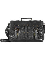 Daytona Messenger Bag Leder 38 cm Billy the kid black